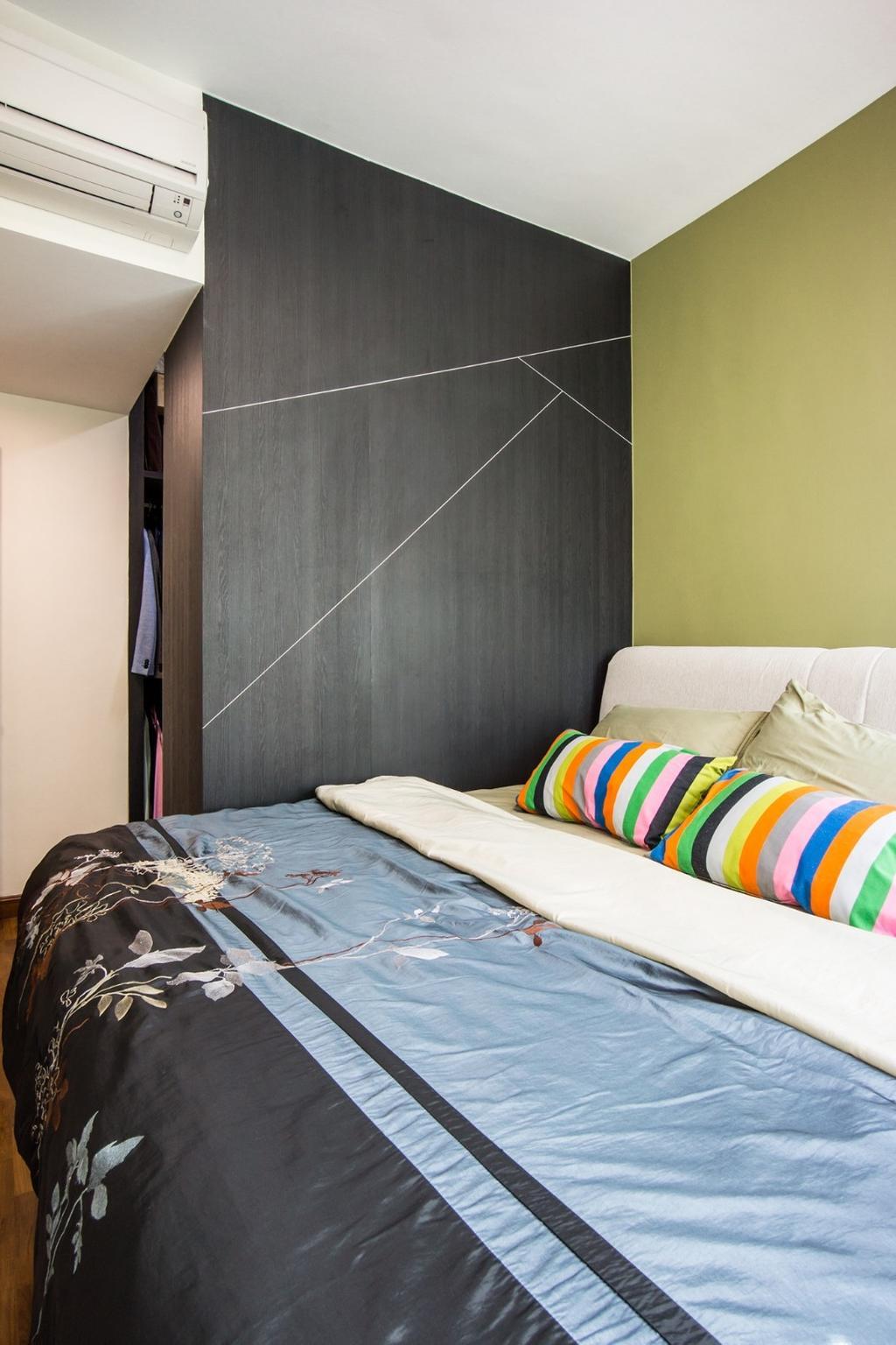 Transitional, Condo, Bedroom, Palm Gardens, Interior Designer, Flo Design