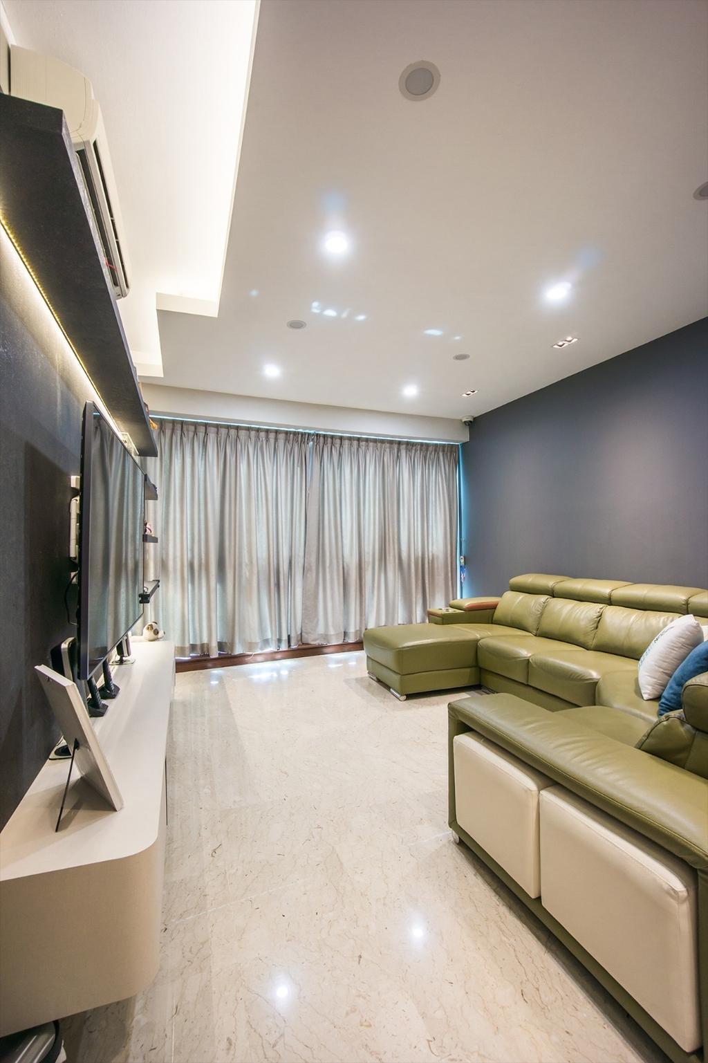 Transitional, Condo, Palm Gardens, Interior Designer, Flo Design, Couch, Furniture, Sink, Indoors, Interior Design