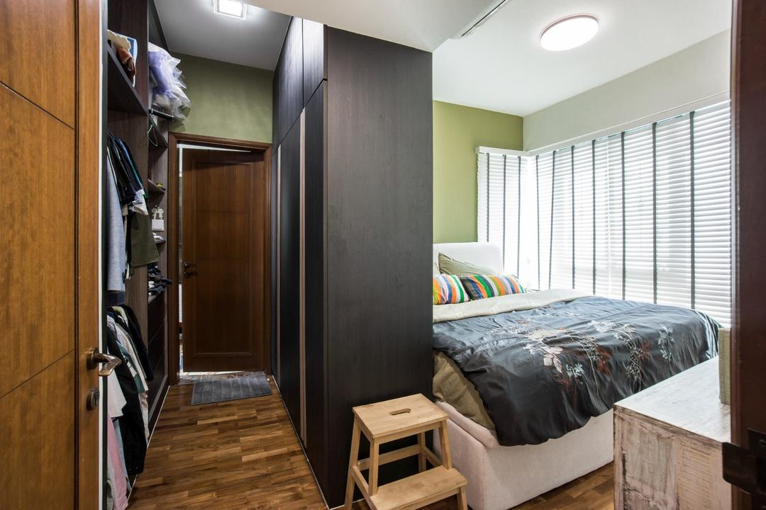 Palm Gardens, Flo Design, Transitional, Condo, Bed, Furniture, Closet, Wardrobe