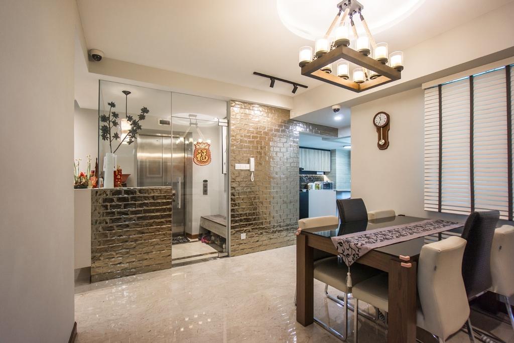 Transitional, Condo, Living Room, Palm Gardens, Interior Designer, Flo Design, Couch, Furniture, Chair, Dining Room, Indoors, Interior Design, Room