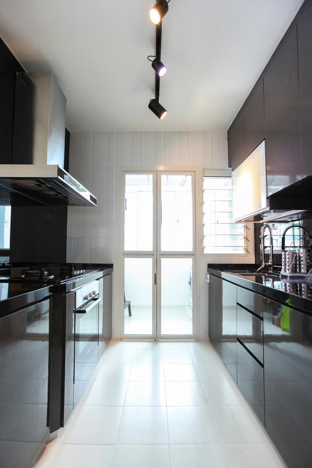 Contemporary, HDB, Kitchen, Bukit Batok West Avenue, Interior Designer, 9's Interior