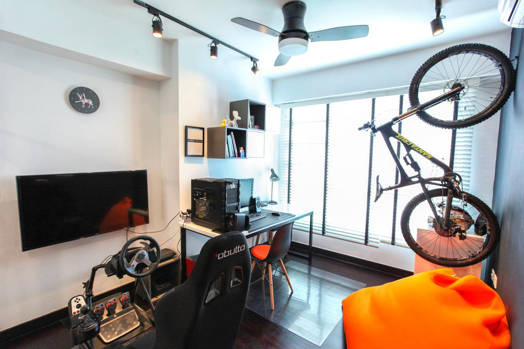 Bukit Batok West Avenue, 9's Interior, Contemporary, HDB, Bicycle, Bike, Transportation, Vehicle