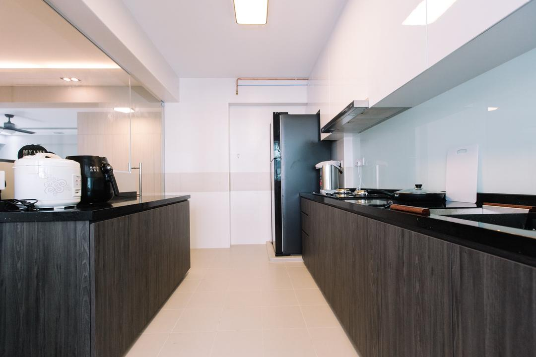 Yishun Ring Road, 9's Interior, Modern, Kitchen, HDB, Appliance, Electrical Device, Toaster