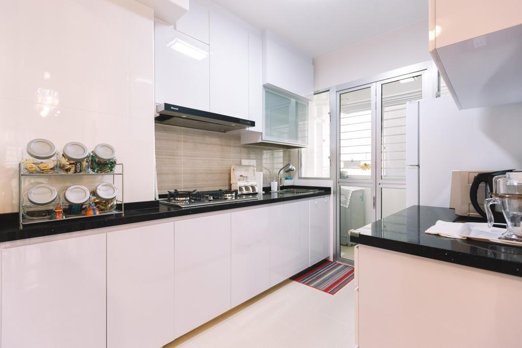 Modern, HDB, Kitchen, Sumang Lane (Block 220C), Interior Designer, 9's Interior, Indoors, Interior Design, Room