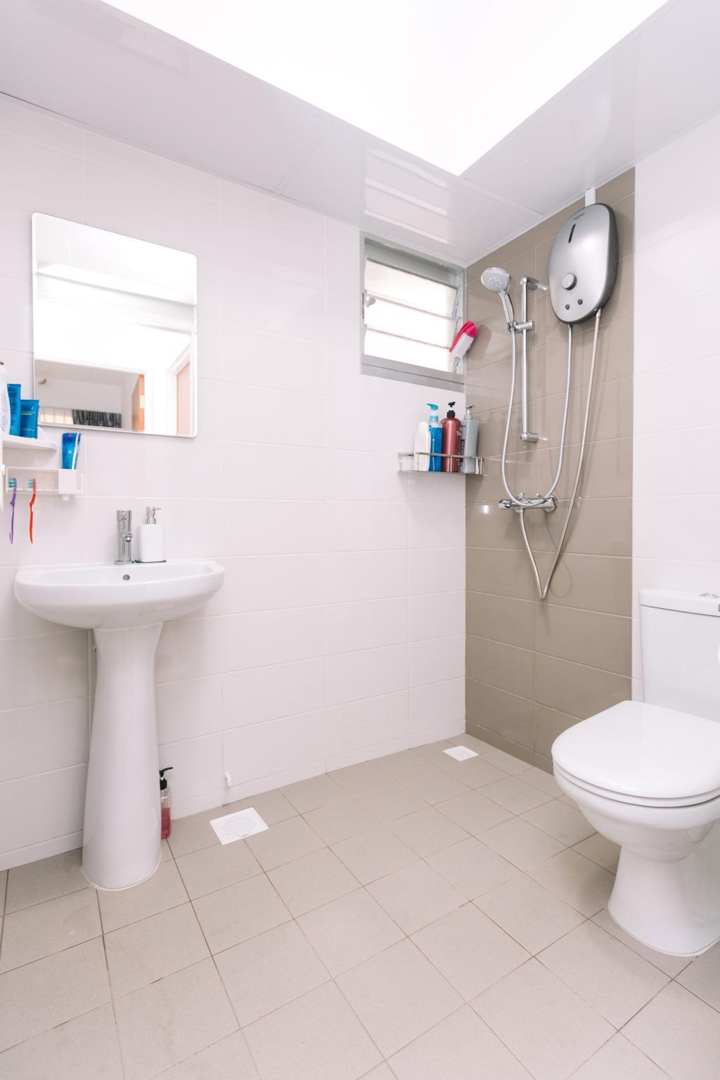 Modern, HDB, Bathroom, Sumang Lane (Block 220C), Interior Designer, 9's Interior, Indoors, Interior Design, Room
