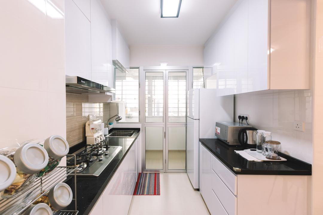 Sumang Lane (Block 220C), 9's Interior, Modern, Kitchen, HDB, Cup, Indoors, Interior Design, Bowl