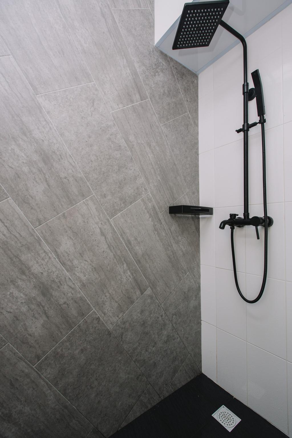 Contemporary, HDB, Bathroom, Sumang Lane, Interior Designer, 9's Interior