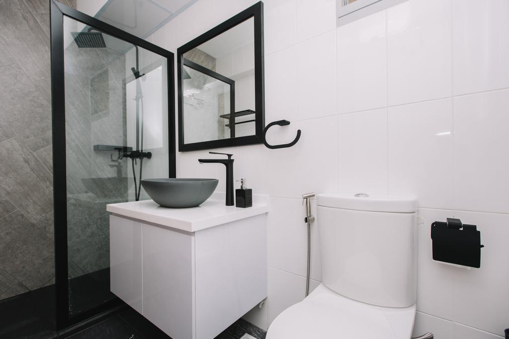 Contemporary, HDB, Bathroom, Sumang Lane, Interior Designer, 9's Interior, Indoors, Interior Design, Room
