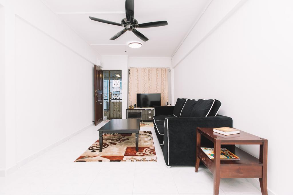 Modern, HDB, Living Room, Marsiling Drive, Interior Designer, 9's Interior, Chair, Furniture