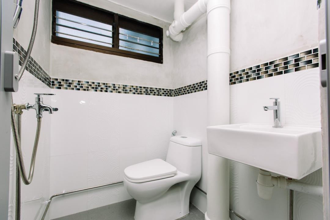 Marsiling Drive, 9's Interior, Modern, Bathroom, HDB, Toilet, Indoors, Interior Design, Room, Plumbing