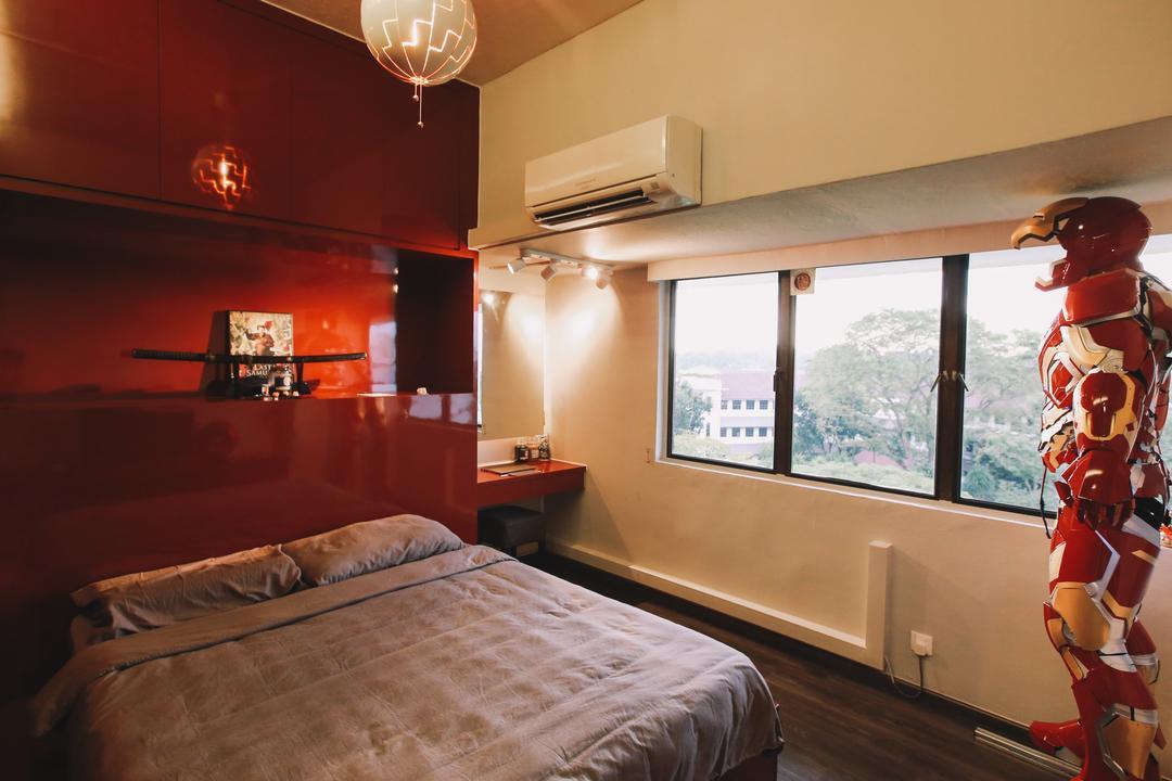 Queensway Tower, 9's Interior, Contemporary, Bedroom, Condo, Human, People, Person