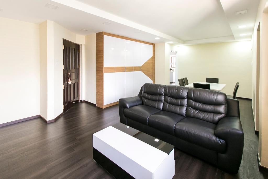 Modern, HDB, Living Room, Boon Tiong Road, Interior Designer, 9's Interior, Couch, Furniture, Indoors, Interior Design