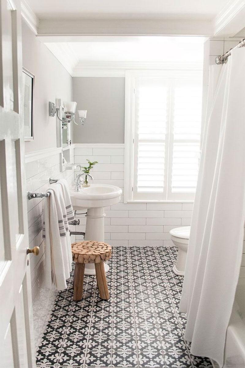 Wabi Sabi Bathrooms, Floor Decals