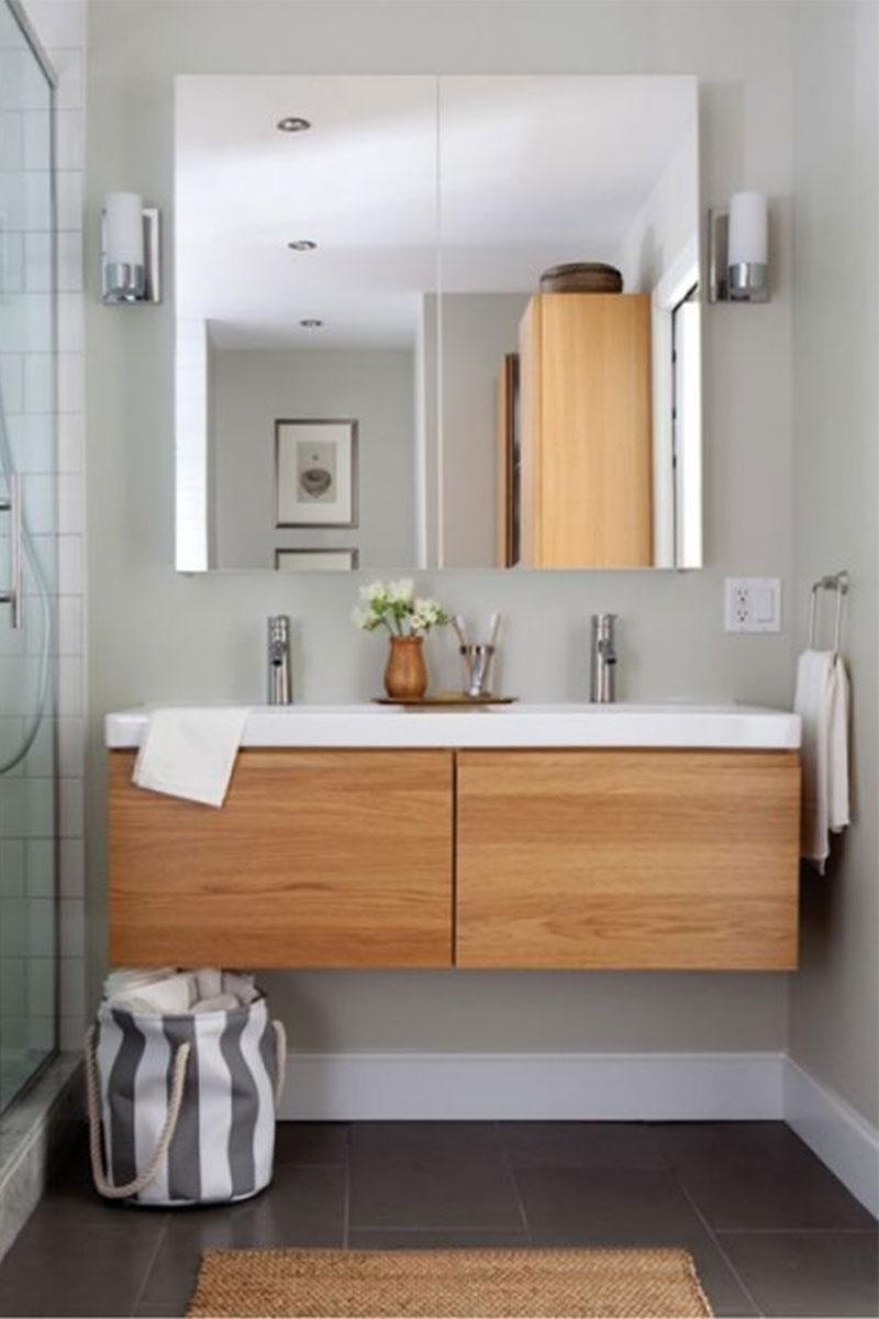 Wabi Sabi Bathrooms, DIY Cloth Sacks