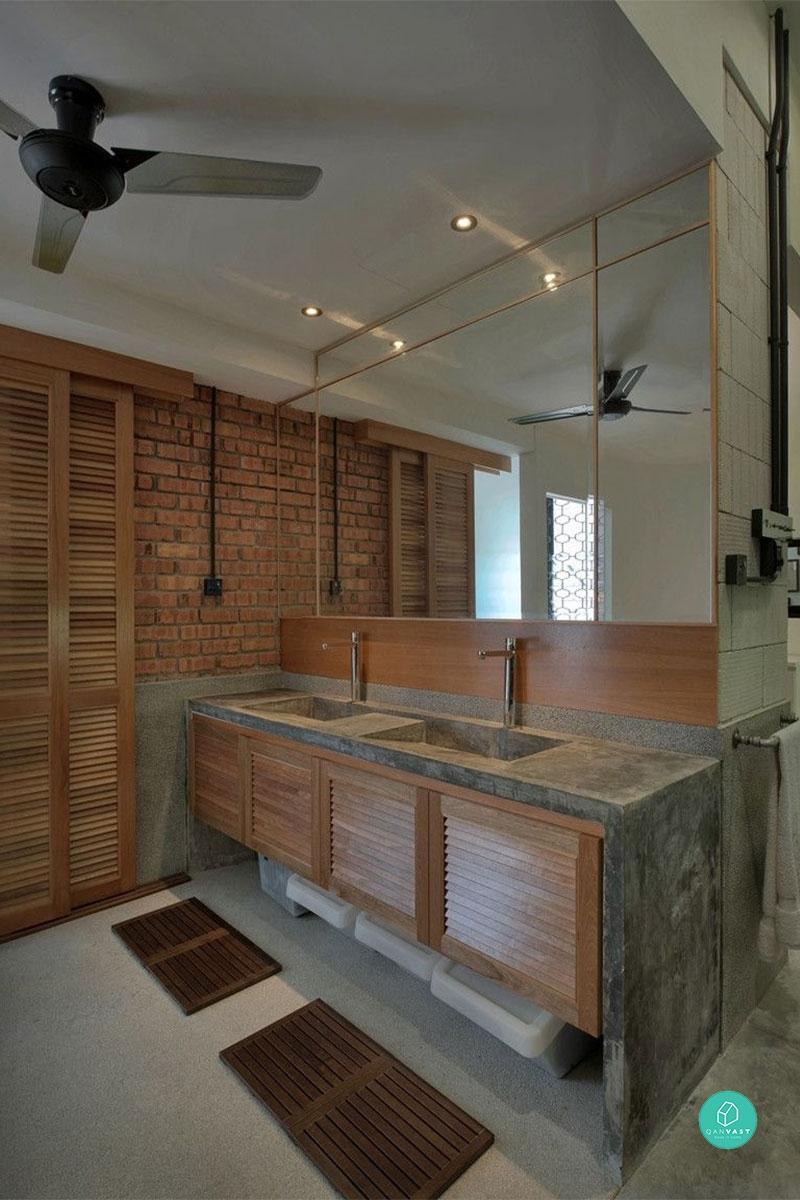 Wabi Sabi Bathrooms, Undersink Storage