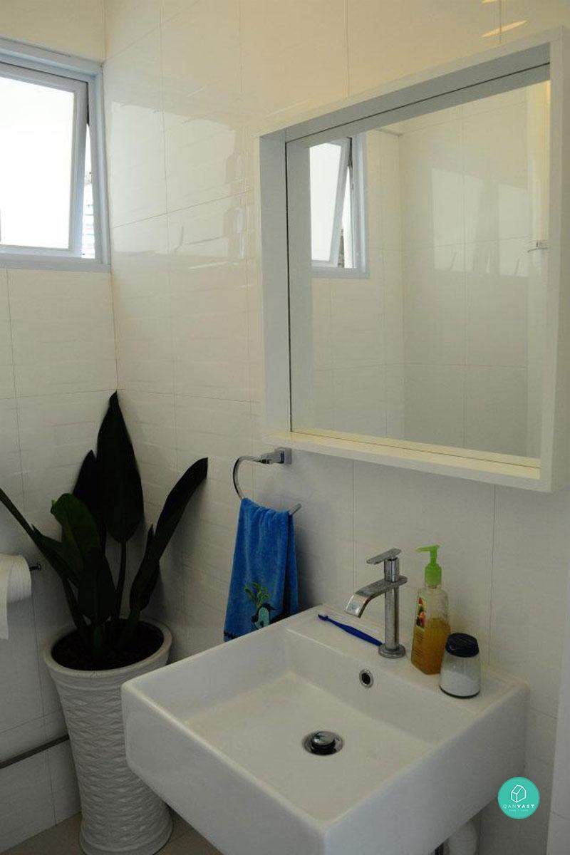 Wabi Sabi Bathrooms, White Tiles