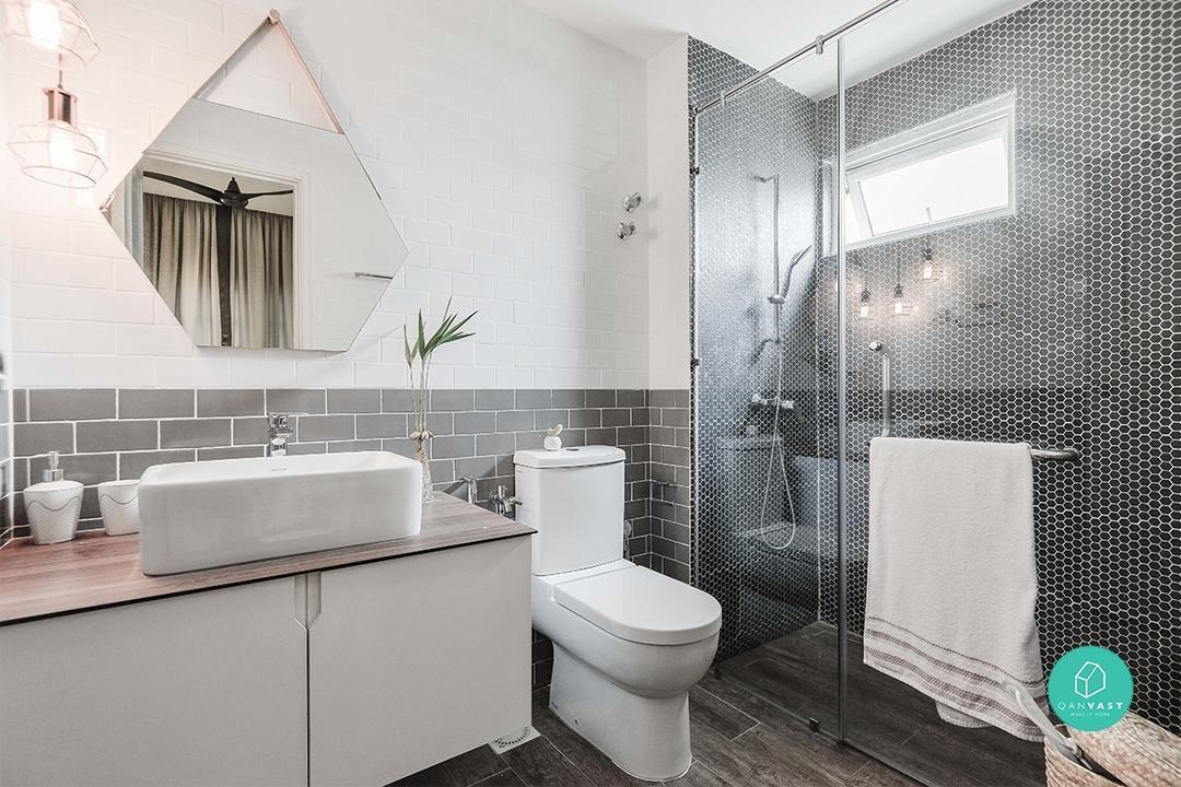 Wabi Sabi Bathrooms, Hanging Pendant Lights