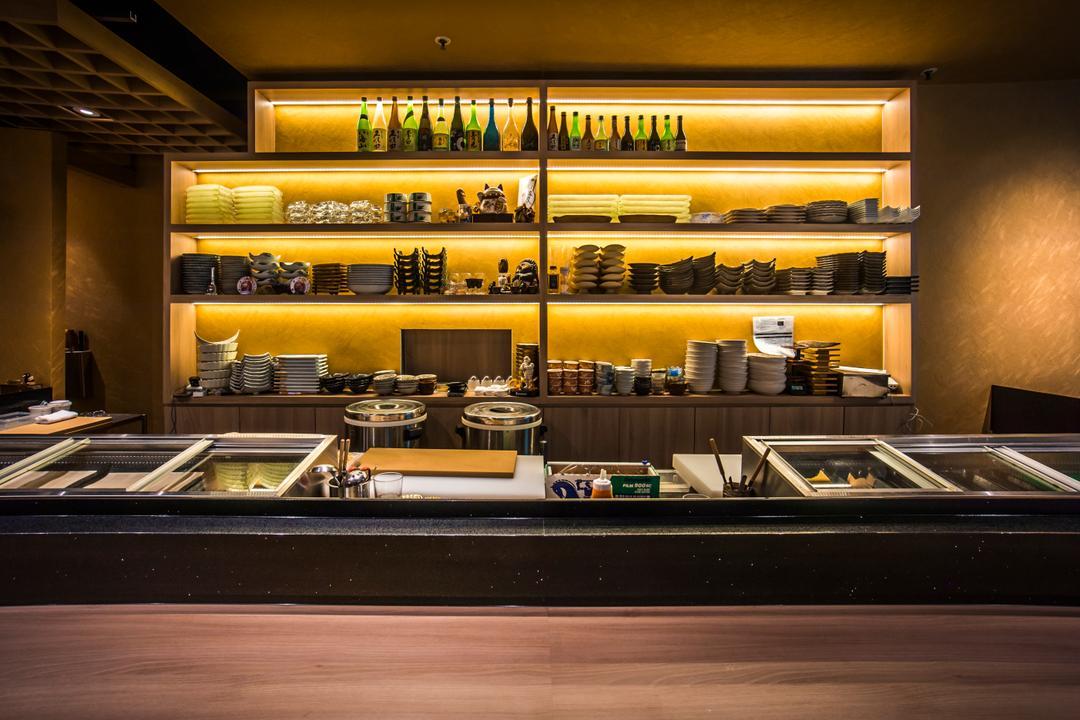 Hakumai, Flo Design, Contemporary, Commercial, Cafe, Restaurant