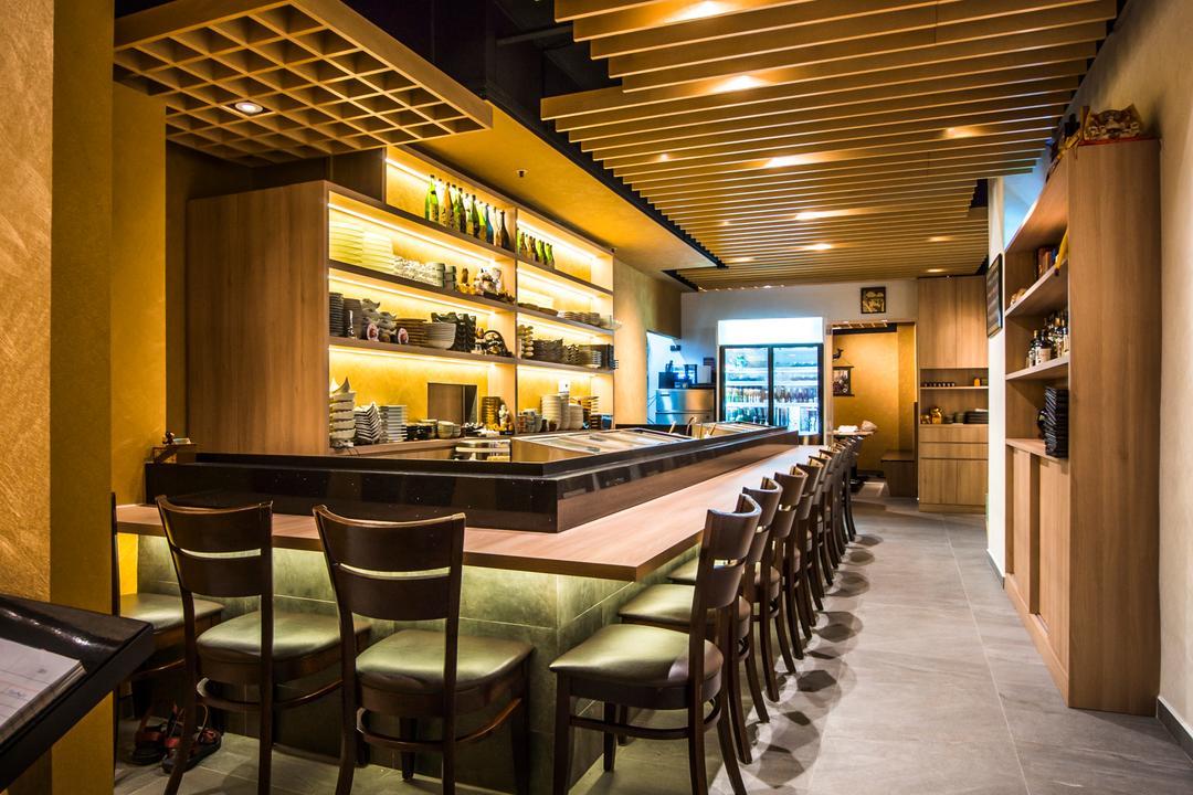 Hakumai, Flo Design, Contemporary, Commercial, Chair, Furniture, Restaurant, Food, Food Court, Bar Counter, Pub, Cafe