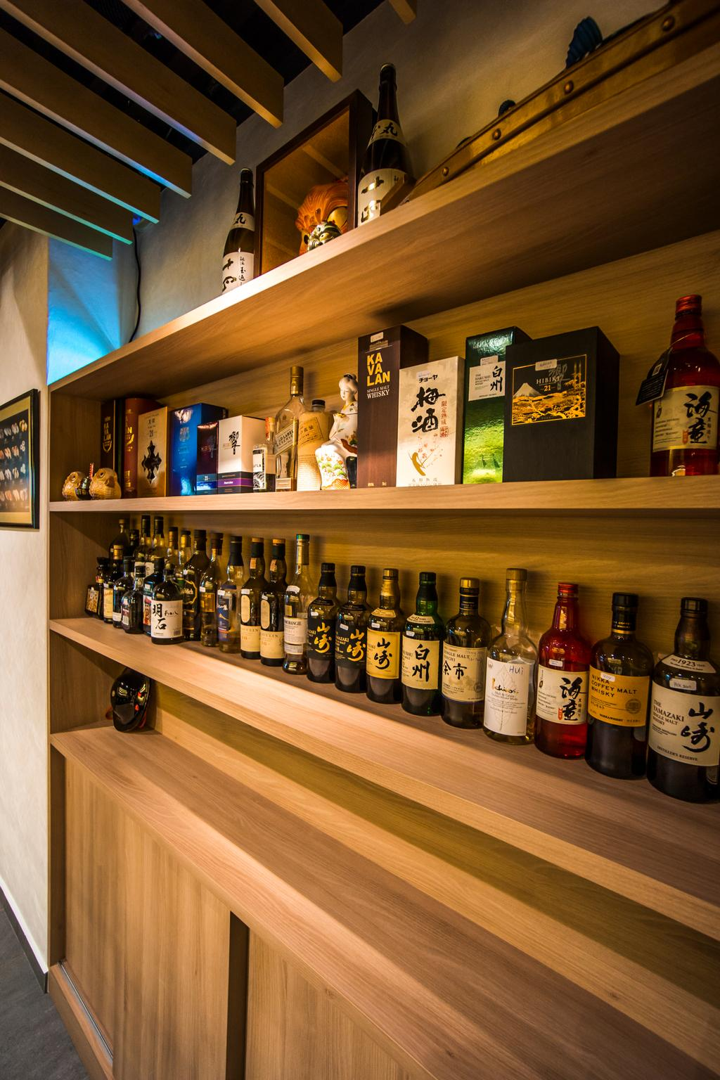Hakumai, Commercial, Interior Designer, Flo Design, Contemporary, Alcohol, Beer, Beer Bottle, Beverage, Bottle, Drink