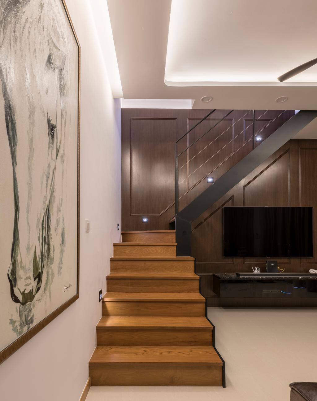 Contemporary, Condo, Living Room, The Trilinq, Interior Designer, Adroit ID, Indoors, Interior Design