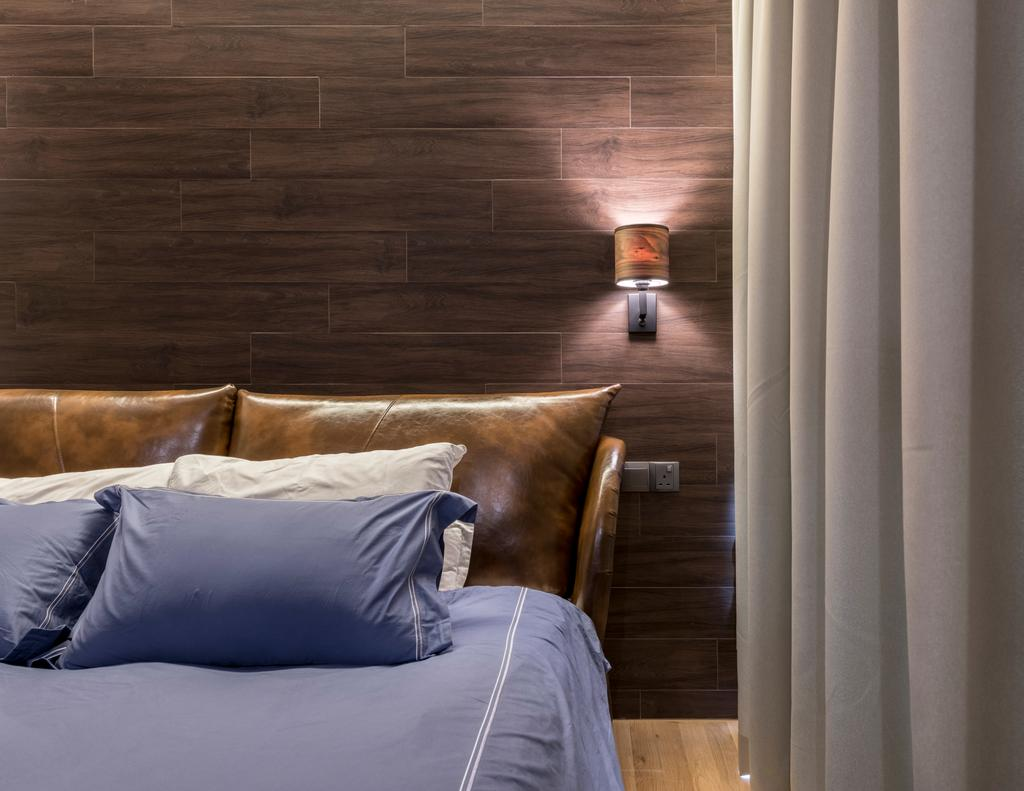Contemporary, Condo, Bedroom, The Trilinq, Interior Designer, Adroit ID, Architecture, Building, Column, Pillar