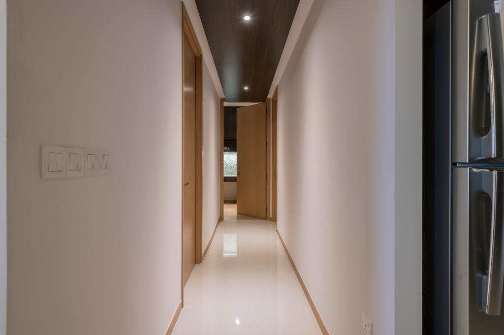 Contemporary, Condo, The Trilinq, Interior Designer, Adroit ID, Corridor