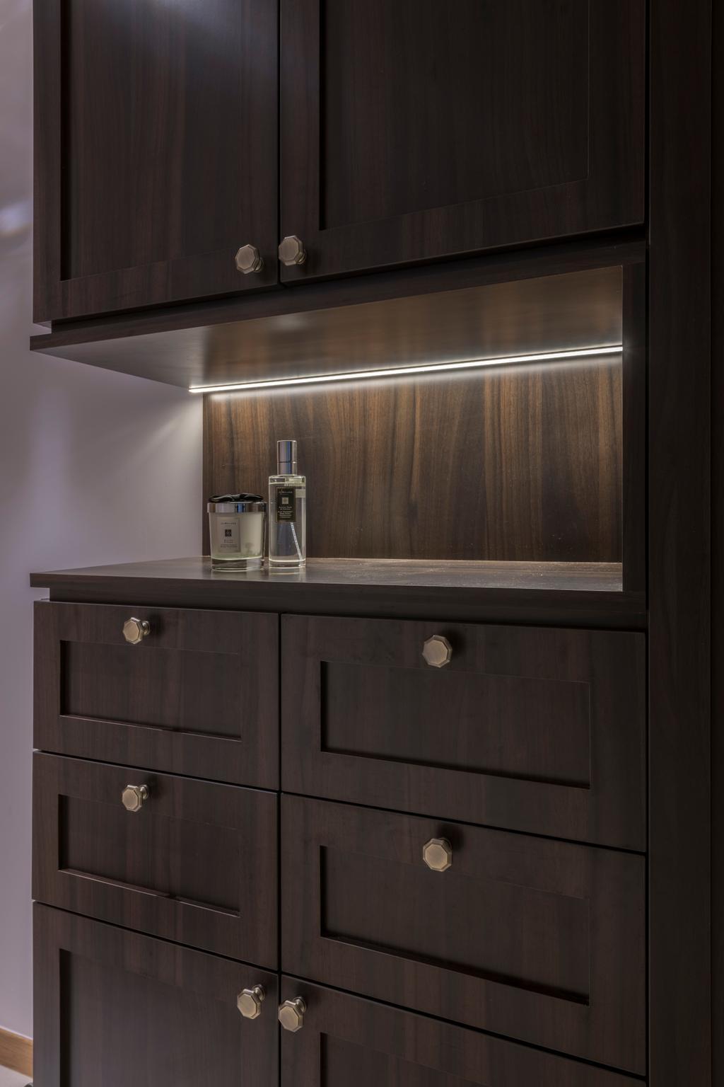 Contemporary, Condo, The Trilinq, Interior Designer, Adroit ID, Furniture, Sideboard, Cabinet