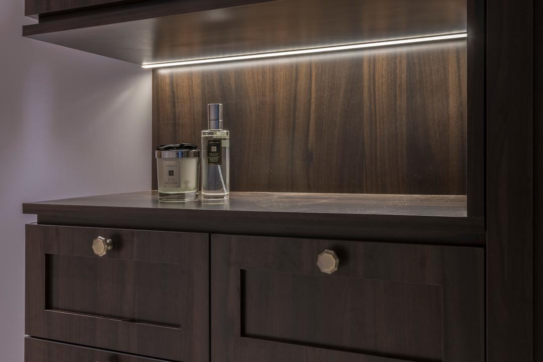 The Trilinq, Adroit ID, Contemporary, Condo, Furniture, Sideboard, Cabinet