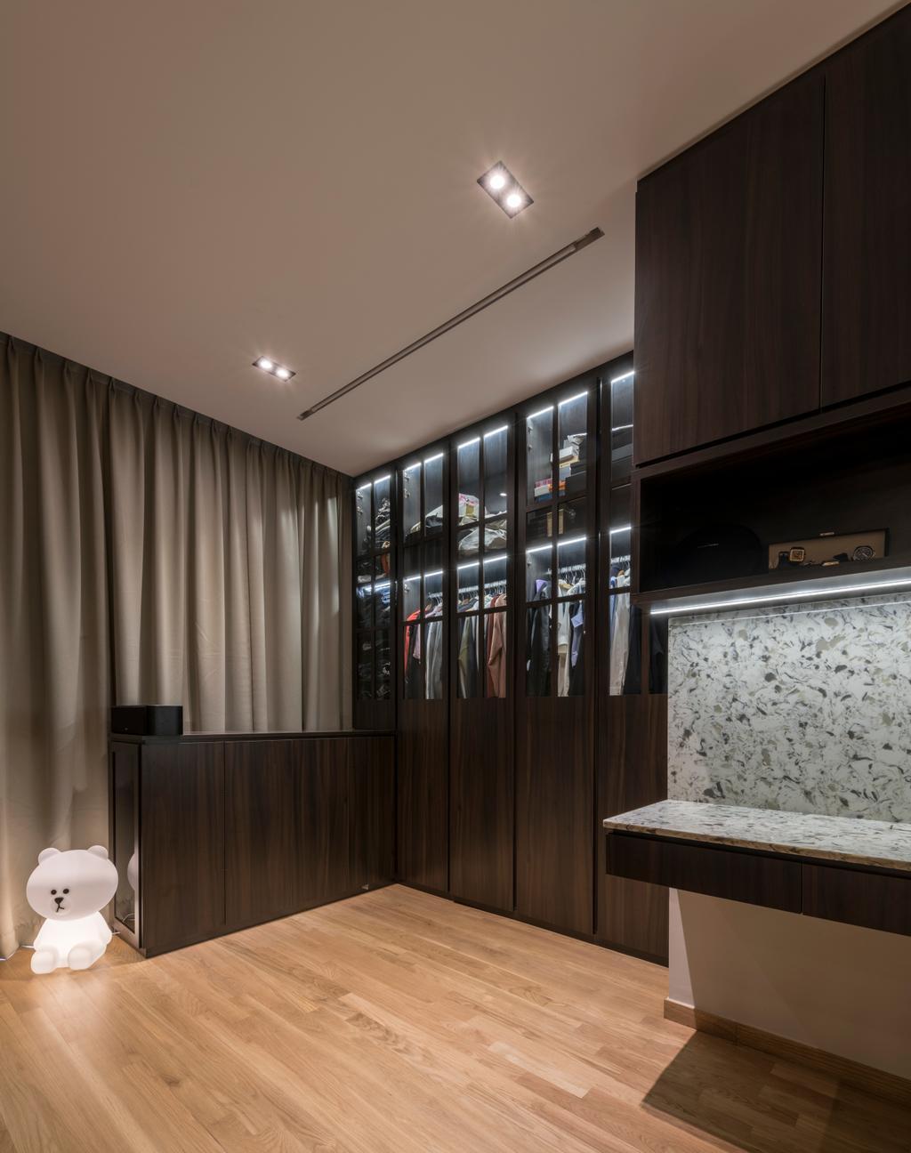 Contemporary, Condo, The Trilinq, Interior Designer, Adroit ID