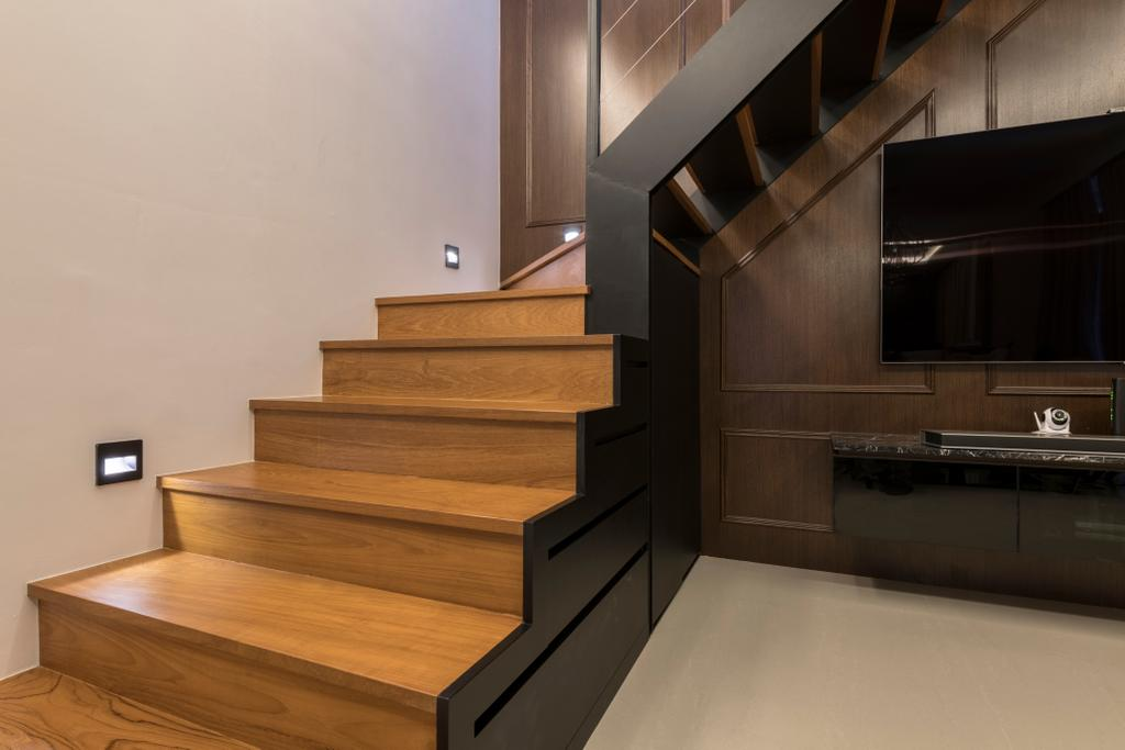 Contemporary, Condo, Living Room, The Trilinq, Interior Designer, Adroit ID, Wood