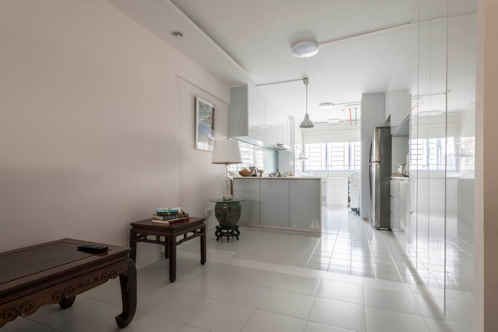 Modern, HDB, Sin Ming Avenue, Interior Designer, PHD Posh Home Design, Dining Table, Furniture, Table