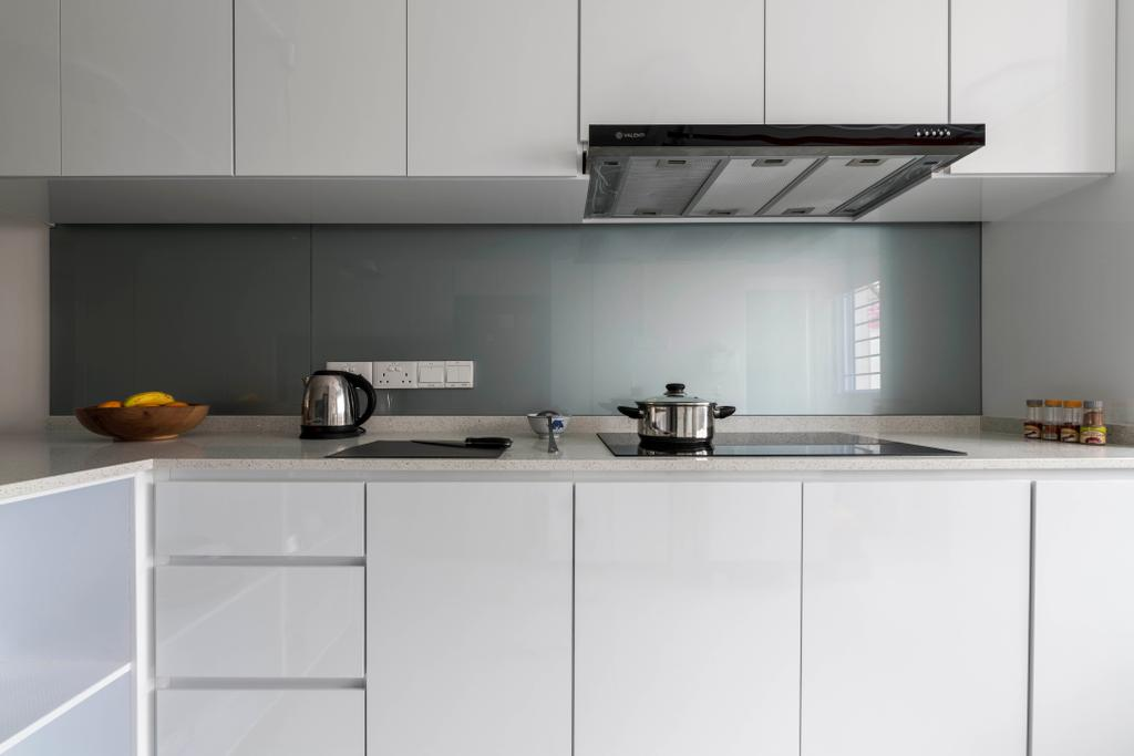 Modern, HDB, Kitchen, Sin Ming Avenue, Interior Designer, PHD Posh Home Design, Indoors, Interior Design, Room