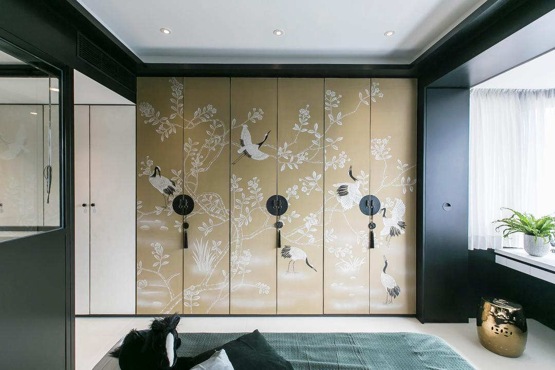 陽明山莊 Bedroom Interior Design 6