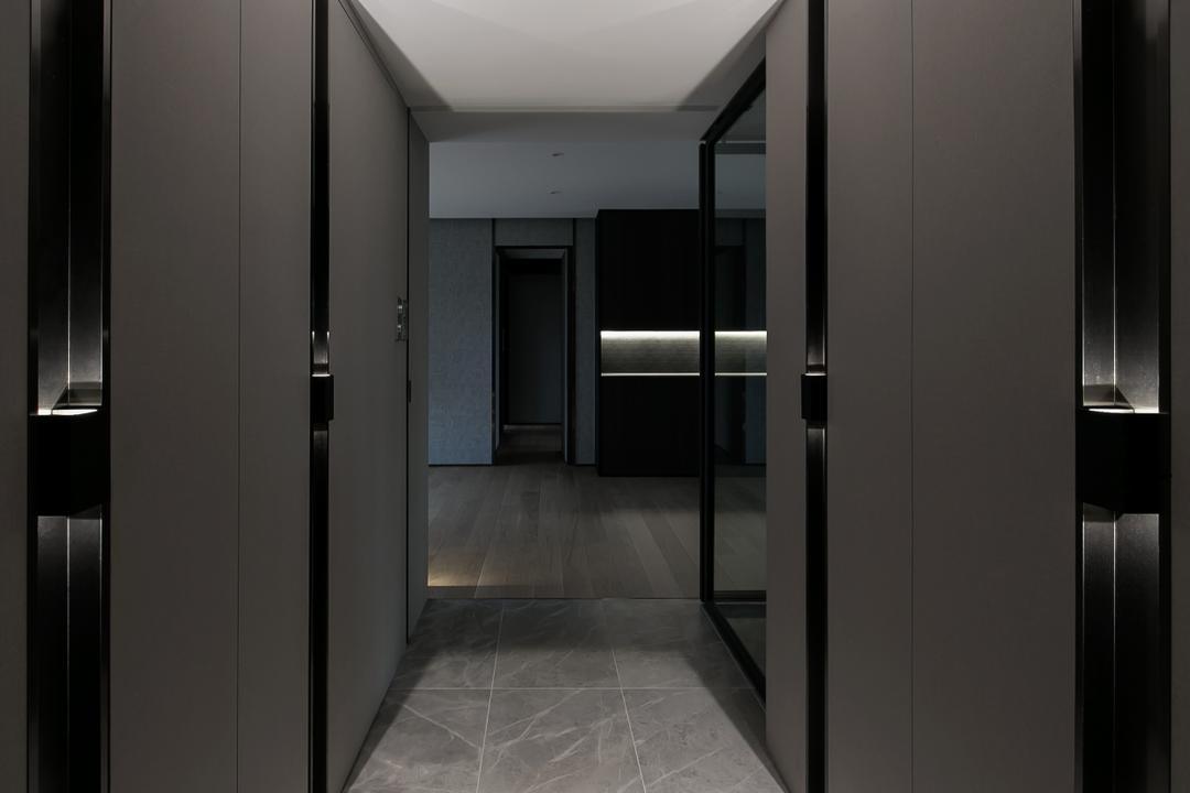 嘉峰臺, HIR 建築設計室, 客廳, 私家樓, Corridor