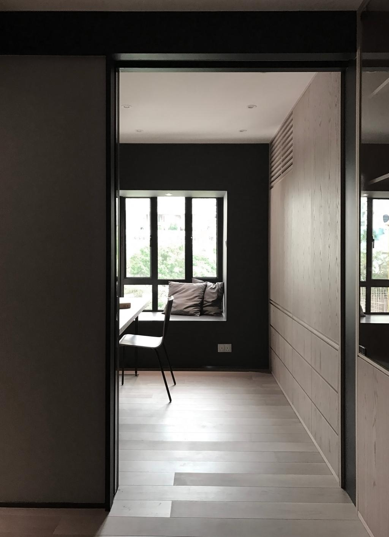 私家樓, 書房, 嘉峰臺, 室內設計師, HIR 建築設計室, Window, Dining Table, Furniture, Table