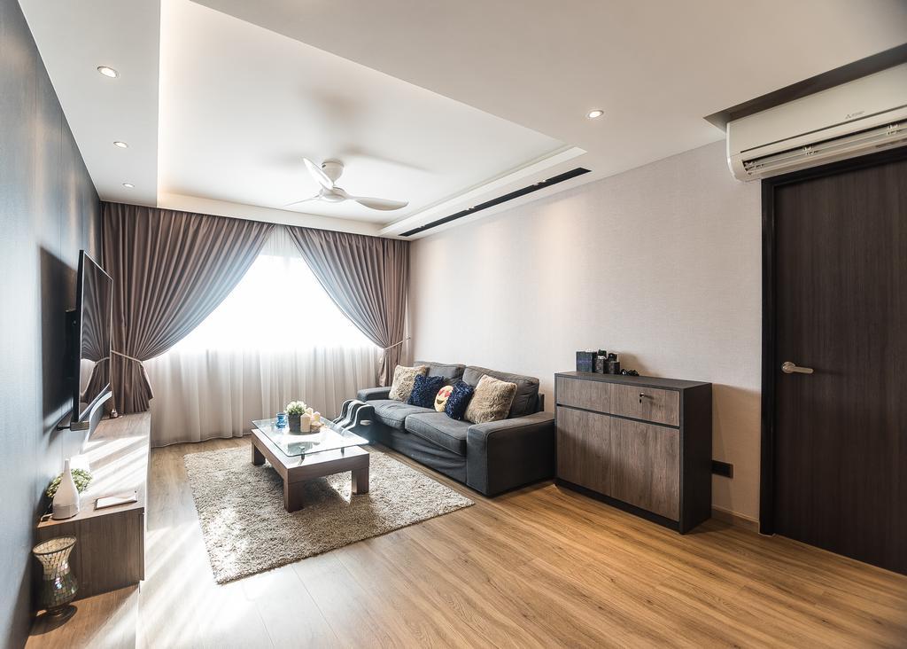 Minimalist, HDB, Living Room, Pasir Ris Street 12, Interior Designer, Mr Designer Studio, Indoors, Interior Design, Flooring