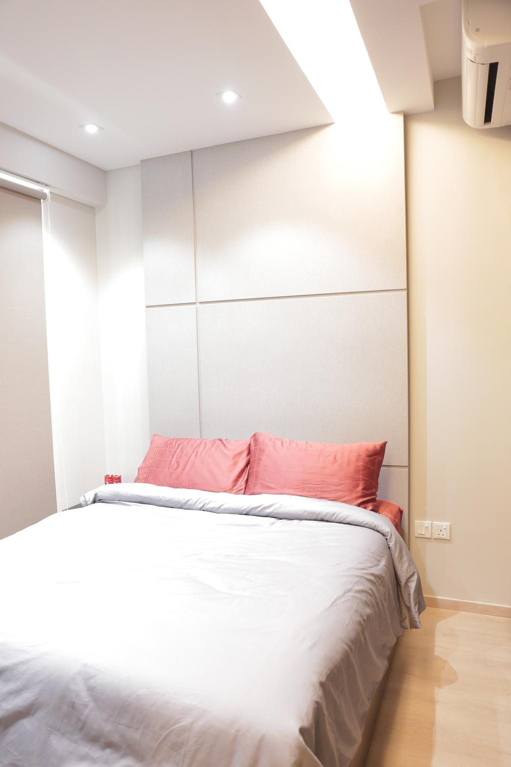 Contemporary, Condo, Bedroom, Watercolours, Interior Designer, Forefront Interior