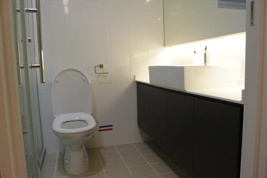 Contemporary, HDB, Bedroom, Rivervale Crescent (Block 164B), Interior Designer, Forefront Interior, Toilet, Bathroom, Indoors, Interior Design, Room