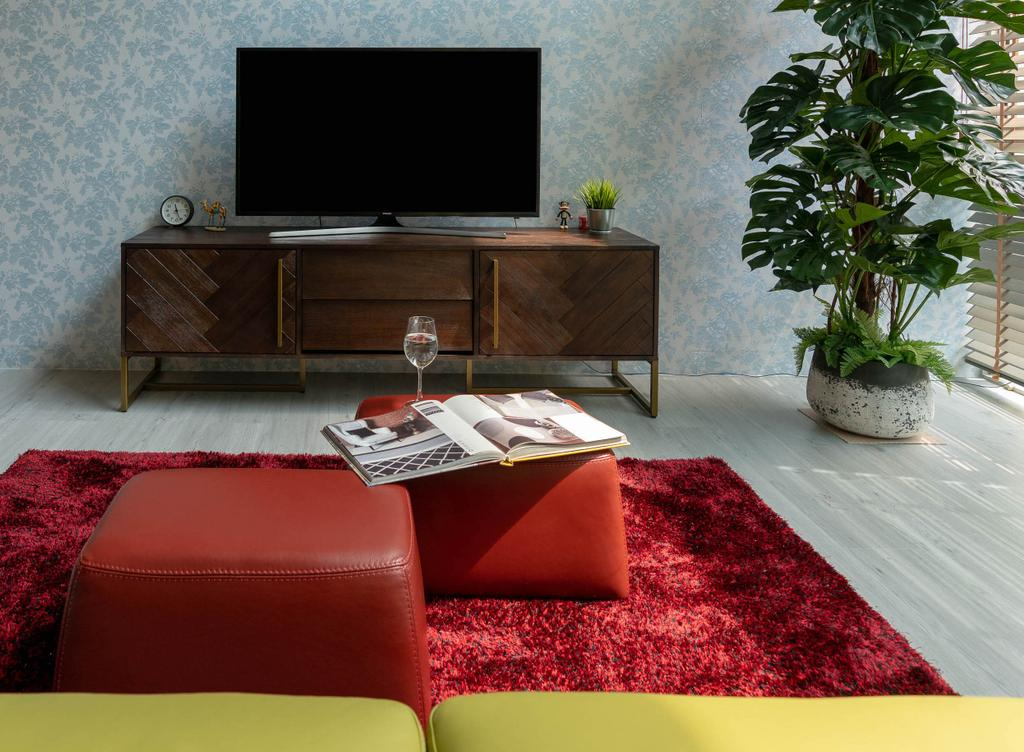 Contemporary, Condo, Living Room, Lighthouse, Interior Designer, Artmuse Interior, Bonsai, Flora, Jar, Plant, Potted Plant, Pottery, Tree, Vase, Chair, Furniture