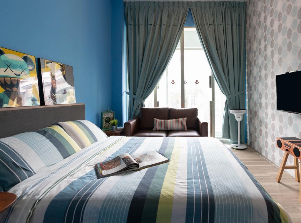Contemporary, Condo, Bedroom, Lighthouse, Interior Designer, Artmuse Interior, Indoors, Interior Design, Room