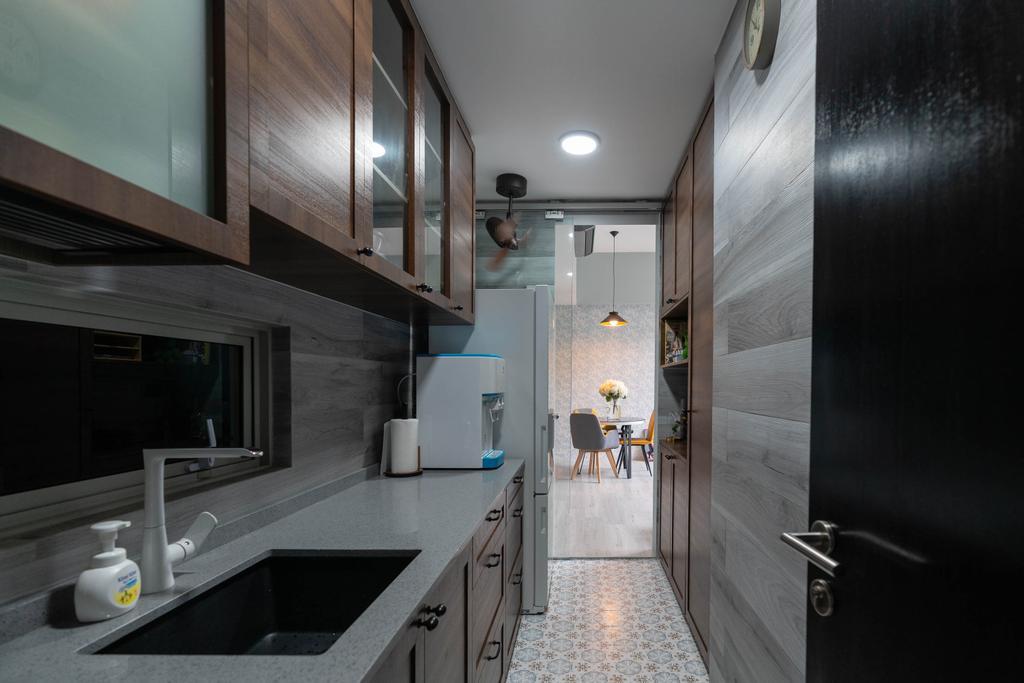 Contemporary, Condo, Kitchen, Lighthouse, Interior Designer, Artmuse Interior, Corridor, Bathroom, Indoors, Interior Design, Room