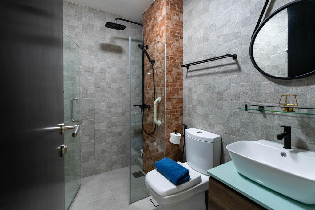 Contemporary, Condo, Bathroom, Lighthouse, Interior Designer, Artmuse Interior, Indoors, Interior Design, Room, Toilet