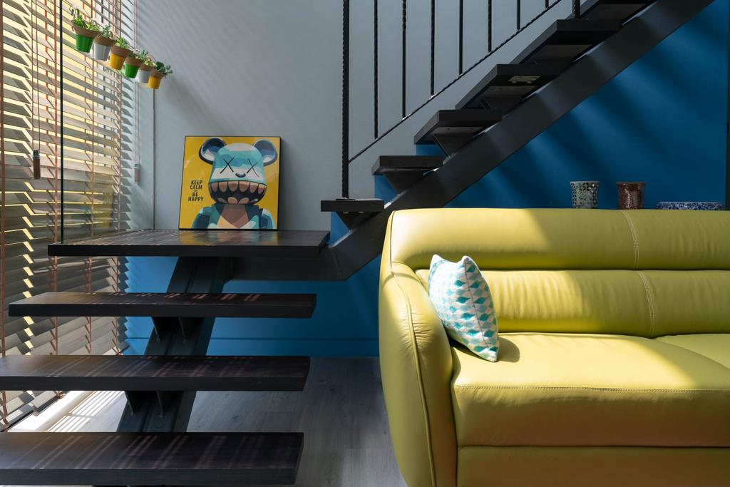 Contemporary, Condo, Living Room, Lighthouse, Interior Designer, Artmuse Interior, Couch, Furniture, Chair