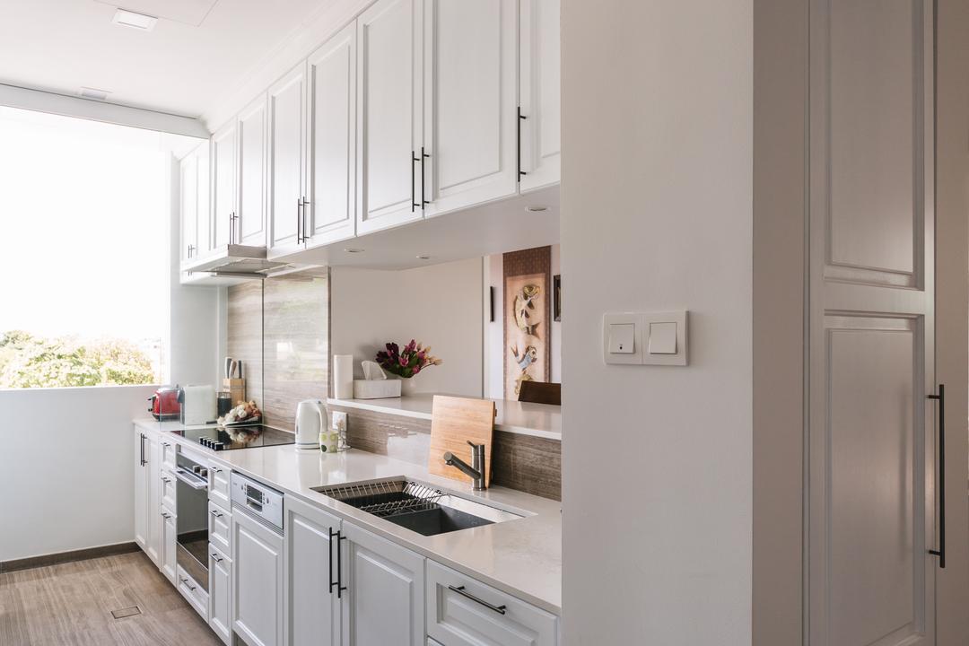 Bluwaters 2, Schemacraft, Contemporary, Kitchen, Condo, Shaker Style, Modern European, Modern French, Indoors, Interior Design, Room