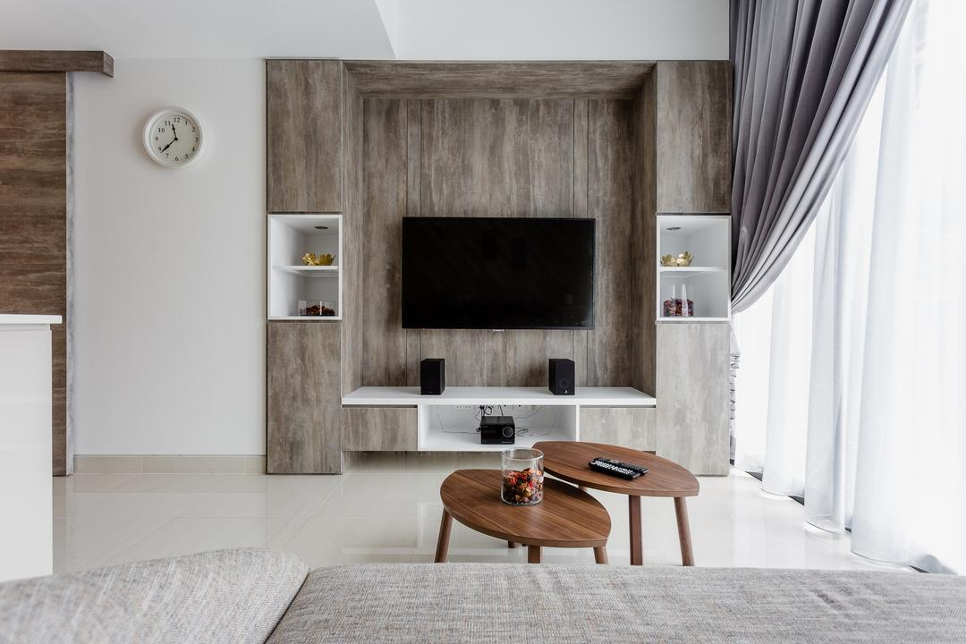 The Centren, Schemacraft, Contemporary, Living Room, Condo, Dining Table, Furniture, Table, Coffee Table, Indoors, Interior Design
