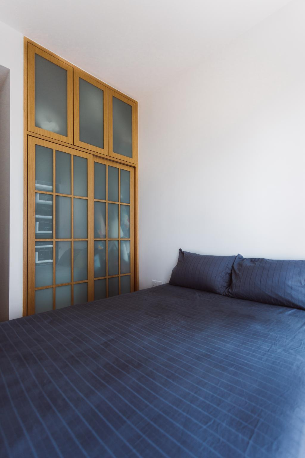 Contemporary, Condo, Bedroom, The Trilinq, Interior Designer, Schemacraft, Door, Sliding Door