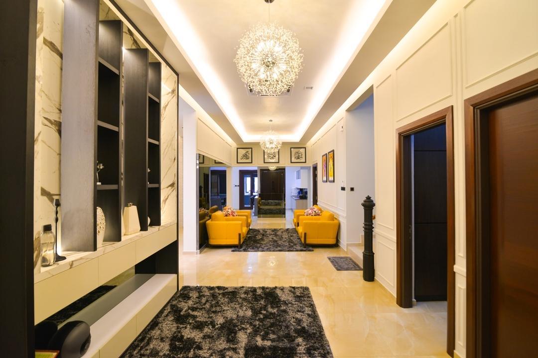 Pekan, Klaasmen Sdn. Bhd., Transitional, Living Room, Landed, Indoors, Interior Design, Corridor