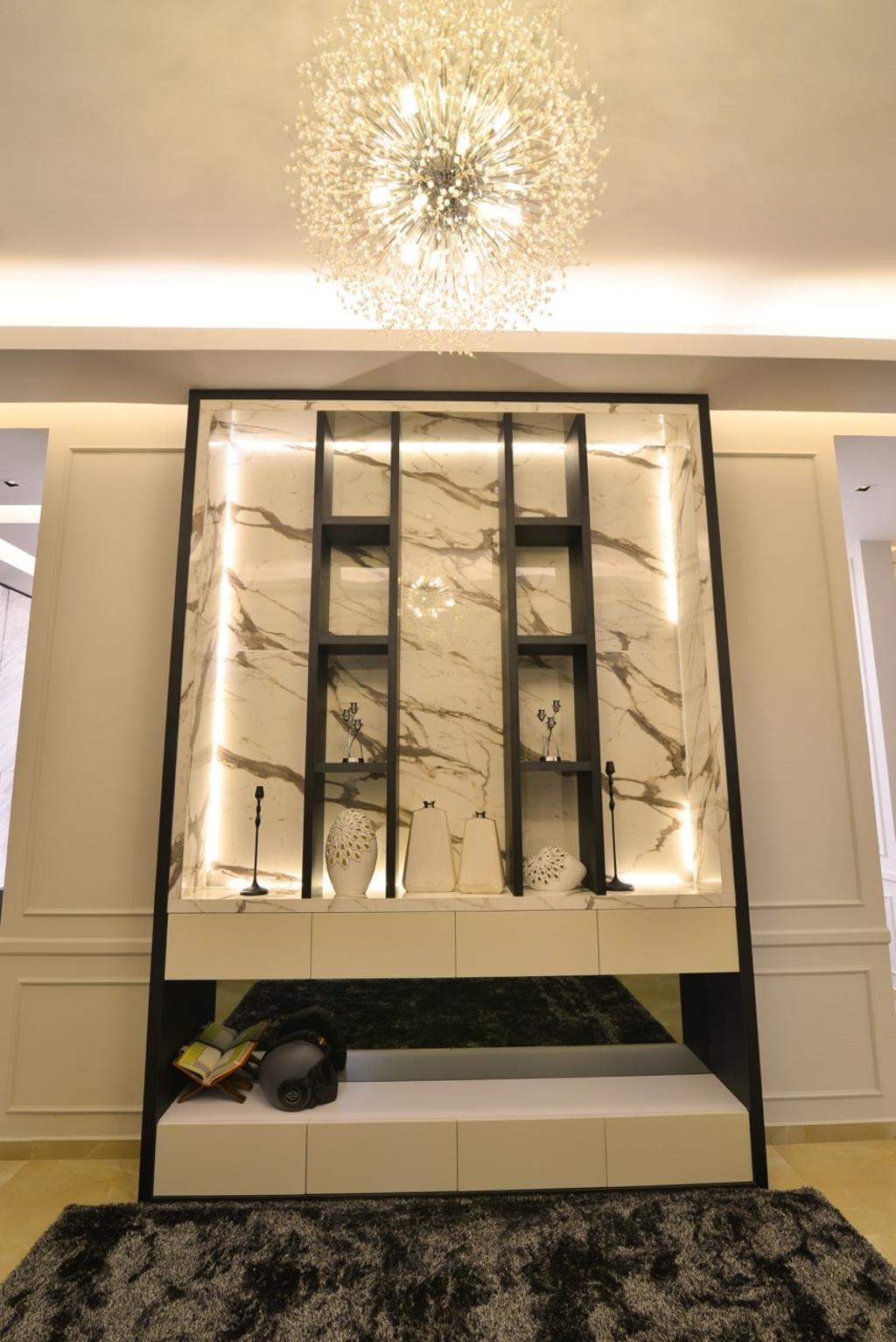 Transitional, Landed, Pekan, Interior Designer, Klaasmen Sdn. Bhd., Mirror