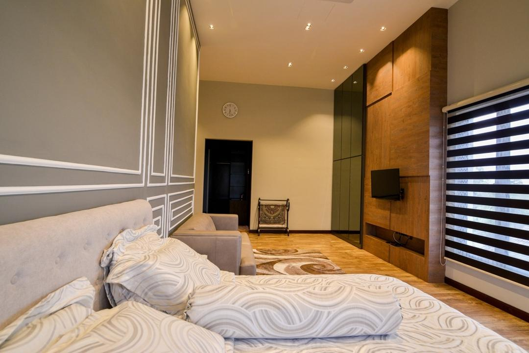 Pekan, Klaasmen Sdn. Bhd., Transitional, Bedroom, Landed, Bed, Furniture